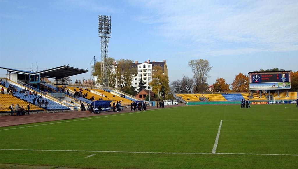Картинки по запросу ужгород стадіон «авангард»